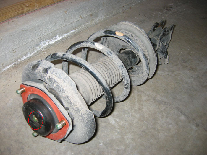 Comparison Of Oem Front Spring And Progress Front Spring On Right